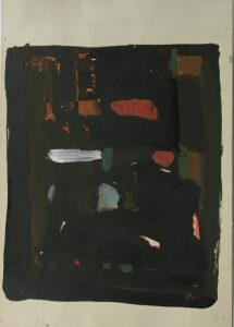 Witraż. Proojekt, 1950