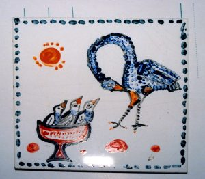 Symboliczny ptak, lata 60.