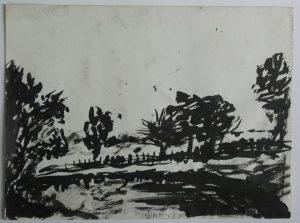 Pejzaż, 1951
